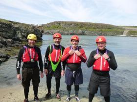 Coasteering Stag Do
